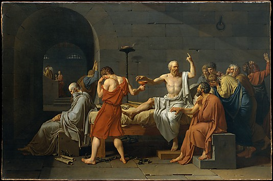 Death of socrates jaques l david