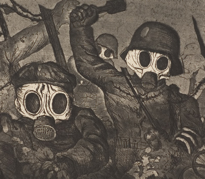 Otto Dix storm troopers advance under gas copy