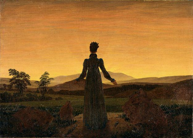 Woman Before the Rising Son Caspar David Friedrich 1818 to 1820